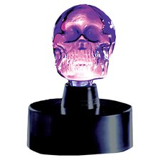 "Mini Skull Electra 8"" H Table Lamp"