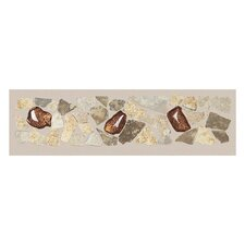 "Castle De Verre 12-13/16"" x 2-15/16"" Universal Decorative Accent Tile in Universal"