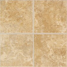 "Castle De Verre 12-13/16"" x 9-13/16"" Wall Field Tile in Chalice Gold"