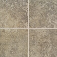 "Castle De Verre 6-7/16"" x 6-7/16"" Wall Field Tile in Grey Stone"