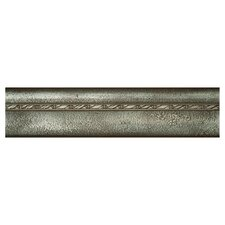 "Metal Signatures Chateau Ogee 12"" x 3"" Liner in Aged Iron"