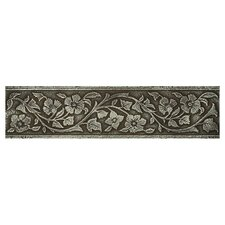 "Metal Signatures Jardin 12"" x 3"" Floor/Wall Border in Aged Iron"