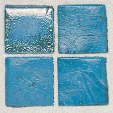 "Sonterra Collection 1"" x 1"" Opalized Mosaic Tile in Azul Verde"