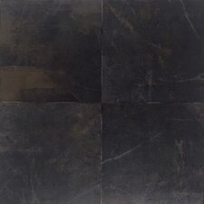"<strong>Daltile</strong> Concrete Connection 6-1/2"" x 6-1/2"" Field Tile in Downtown Black"