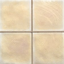 "Cristallo Glass 4"" x 4"" Field Tile in Smoky Topaz"