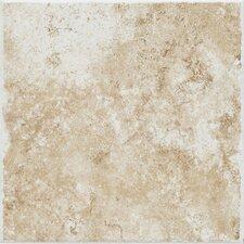 "Fidenza 18"" x 18"" Floor Tile in Bianco"