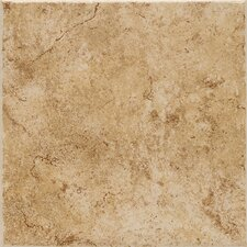 "Fidenza 18"" x 18"" Floor Tile in Dorado"