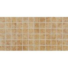 Fidenza Mosaic Tile in Dorado