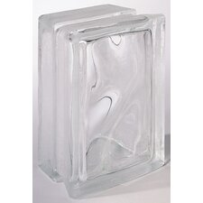 "Glass Block 8"" x 6"" Decora Arque Block"