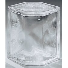 "<strong>Daltile</strong> Glass Block 8"" x 6"" Decora Hedron Corner Unit"