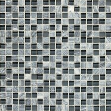 Stone Radiance  Mosaic Tile Blend in Glacier Gray Marble