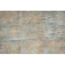 "Timber Glen 8"" x 24"" Rustic Field Tile in Thatch"