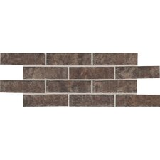 Union Square Quarry Unpolished Mosaic in Cobble Brown