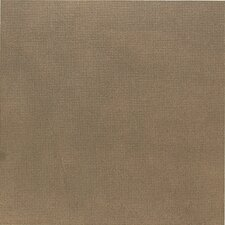 "Vibe 18"" x 18"" Unpolished Floor Tile in Techno Bronze"