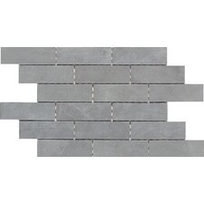 Concrete Connection Porcelain Interlocking Border Mosaic Tile in Steel Structure