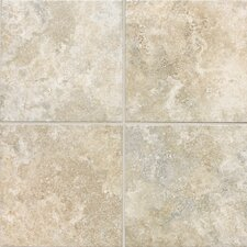"San Michele 24"" x 24"" Cross - Cut Field Tile in Crema"