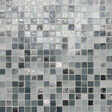 "City Lights 1/2"" x 1/2"" Glass Frosted Mosaic in London"