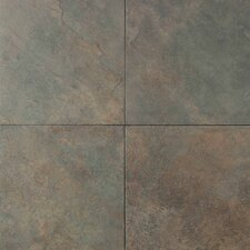 "Continental Slate 6"" x 6"" Field Tile in Brazilian Green"