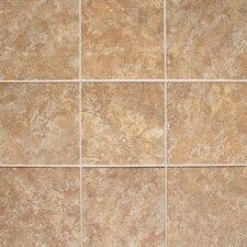 """Del Monoco 13"""" x 13"""" Glazed Field Tile in Adriana Rosso"""