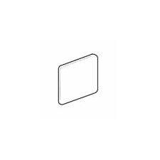 """Sandalo 6"""" x 6"""" Surface Bullnose Corner Tile Trim in Raffia Noce"""