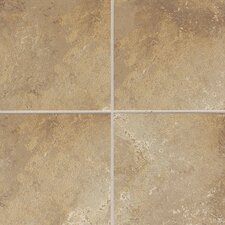 "Sandalo 18"" x 18"" Field Tile in Raffia Noce"