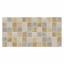 "Sandalo 2"" x 2"" Ceramic Glazed Mosaic Tile in Beige"