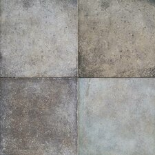 "Terra Antica 6"" x 6"" Field Tile in Celeste/Grigio"