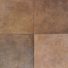 "Terra Antica 18"" x 18"" Field Tile in Bruno"