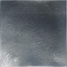 "Urban Metals 6"" x 6"" Decorative Accent in Gunmetal"