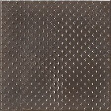 "Urban Metals 6"" x 6"" Gamma Decorative Accent in Bronze"