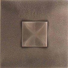 "<strong>Daltile</strong> Urban Metals 2"" x 2"" Geo Decorative Dot in Bronze"