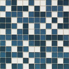 "Keystones Blends 1"" x 1"" Plain Porcelain Mosaic Tile in Horizon"