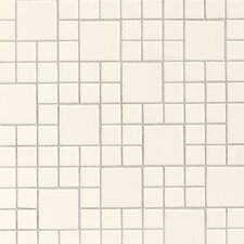 "Keystones Blends 12"" x 24"" Plain Porcelain Mosaic Tile in Biscuit"