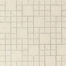 "Keystones Blends 2"" x 1"" Plain Porcelain Mosaic Tile in Marble"