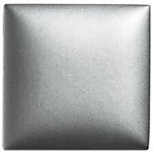 "Metallurgy 2"" x 2"" Small Square Field Tile in Pewter"