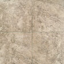 "Travata 13"" x 13"" Plain Glazed Porcelain Tile in Toasted Almond"