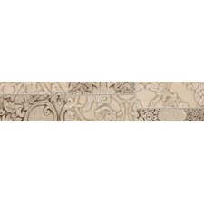 "Fashion Accents 10"" x 2""  Provincial Decorative Accent in Damask Mosaic"