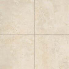 "Alessi 20"" x 20"" Unpolished Field Tile in Crema"