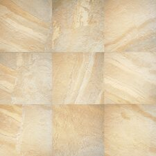 "<strong>Daltile</strong> Ayers Rock 6 1/2"" x 6 1/2"" Unpolished Field Tile in Solar Summit"