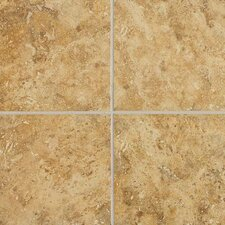 "Heathland 18"" x 18"" Unpolished Floor Tile in Amber"