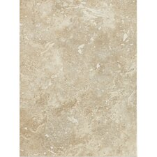 "Heathland 12"" x 9"" Unpolished Wall Tile in White Rock"