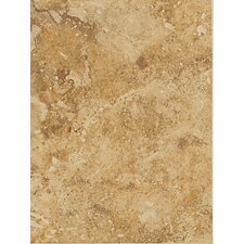 "Heathland 6"" x 3"" Unpolished Wall Tile in Amber"