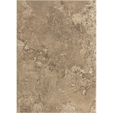 "Stratford Place 14"" x 10"" Plain Ceramic Wall Tile in Truffle Field"