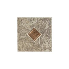 "Castle De Verre 13.13"" x 13.13"" Mosaic Field Tile in Grey Stone"