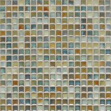 "Fashion Accents 12"" x 12"" Glazed Shimmer Illumini Mosaic in Lake"