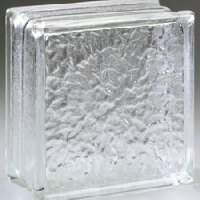 "<strong>Daltile</strong> Glass Block 8"" x 8"" Icescapes Block"