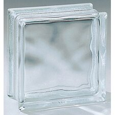 "Glass Block 6"" x 6"" Glass Block (Set of 12)"
