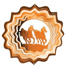 Copper Horses Classic Wind Spinner