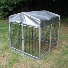 Folding Quick Welded Wire Yard Kennel