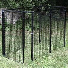 Welded Wire Yard Kennel